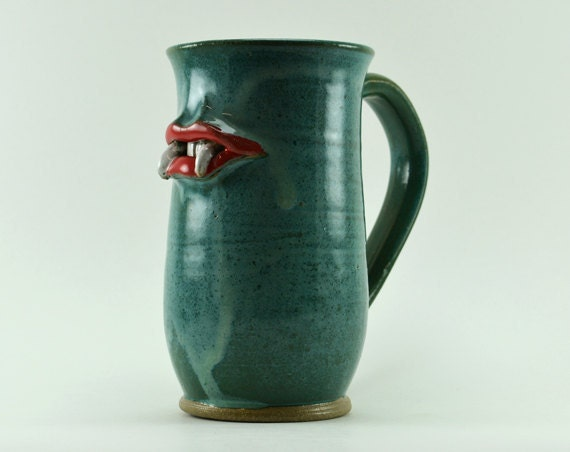 Blue Vampire Mug