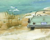 A Top Down Kind of Day archival print by Sandy Klotter