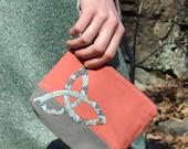 Celtic Knot Wristlet
