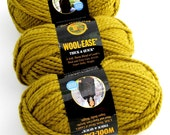 Lion Brand Wool-Ease Yarn. Thick. Bulky.