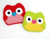 Owl Hot Pad Pattern. Easy. Cute.