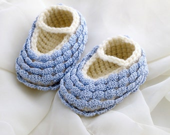 3-6 Months Baby Booties
