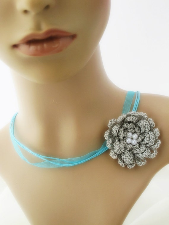Tiffany Inspired Flower Necklace