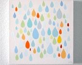 "Rain on Me 24x24"" canvas"