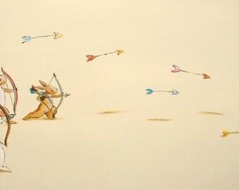 The Archery Club- Print