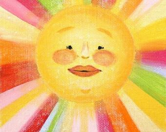 Mister Sunshine- PRINT