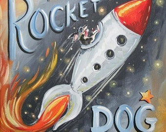 The Adventures of Rocket Dog  (number 42)