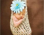 Crochet Stork Pouch