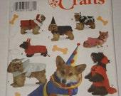 Simplicity No. 8287 Dog Customes Sewing Pattern