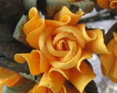 10 Handmade Paper Millinery Country Roses