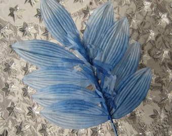 Vintage Millinery Leaves Made In Japan Handmade Silk Sprig With Tassels  VL 011 LB
