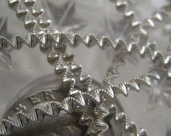 Bouillion Wire Zig Zag Crinkle Wire Made In Germany Authentic Silver 3mm Crinkle Wire For Ornaments