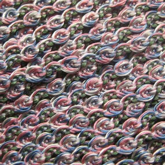 3 Yards Sweet Little Rose Trim For Sewing Or Scrapbooking Old Store Stock