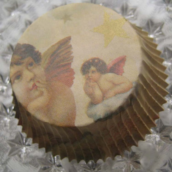 Made In Germany 60 Baking Cups Specialty Cupcake LIners Angels