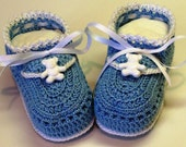 Hand Crocheted Baby Booties