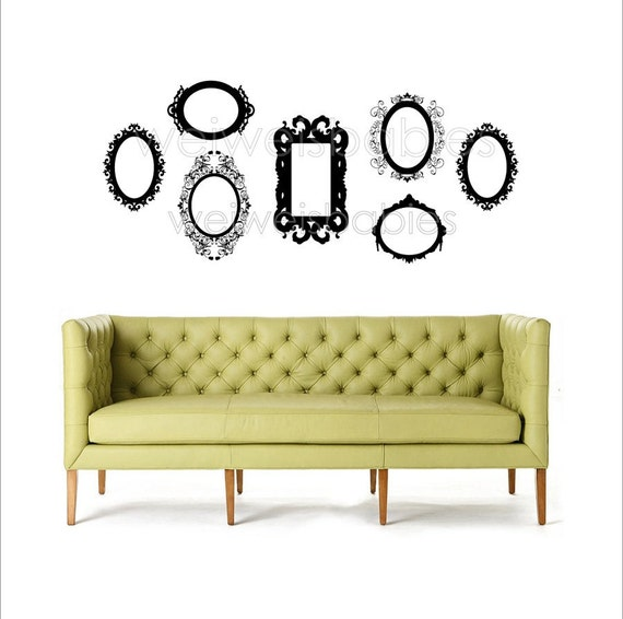 Baroque Frame Wall Decal Set