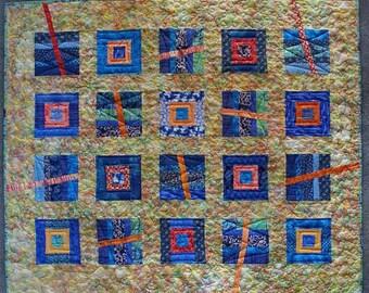 Quilt Abstract Batik