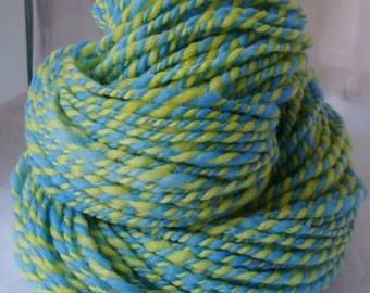 LEMON LAKE -- Handspun Yarn