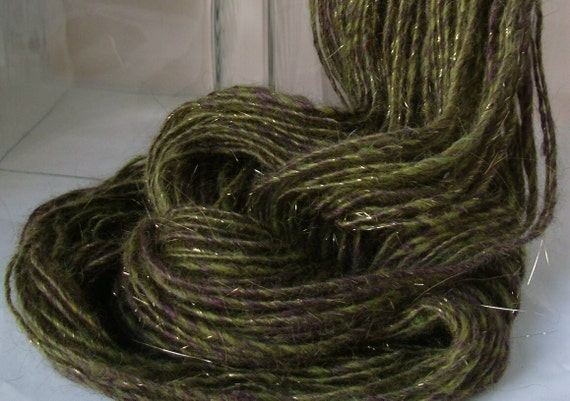 WHIMSICAL WOODS -- Handspun Yarn