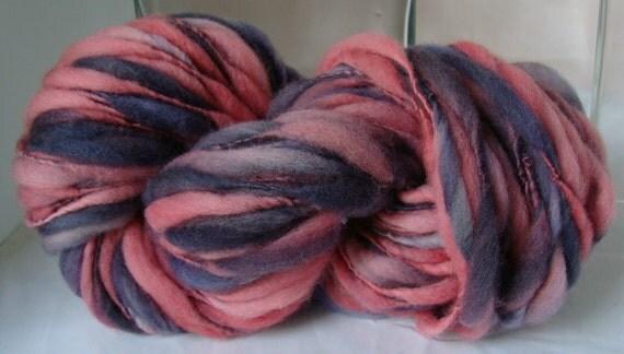 CHARRED BERRIES -- Handspun Yarn