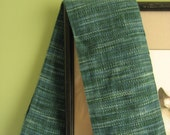 Hand Woven Evergreen Scarf