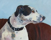 Custom Dog Portrait 16x20 inches or smaller