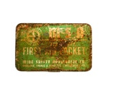 Show me Where it Hurts  - Coal Mine - Antique First Aid Kit