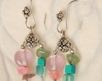 Drop Earrings with some of my favorite things