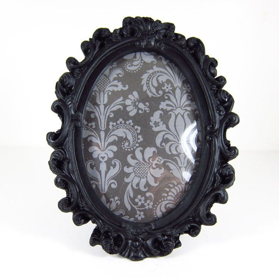 Black Vintage Rococo Style - picture frame