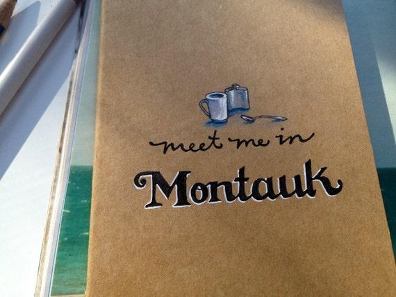 Eternal Sunshine Meet Me in Montauk Moleskine Notebook