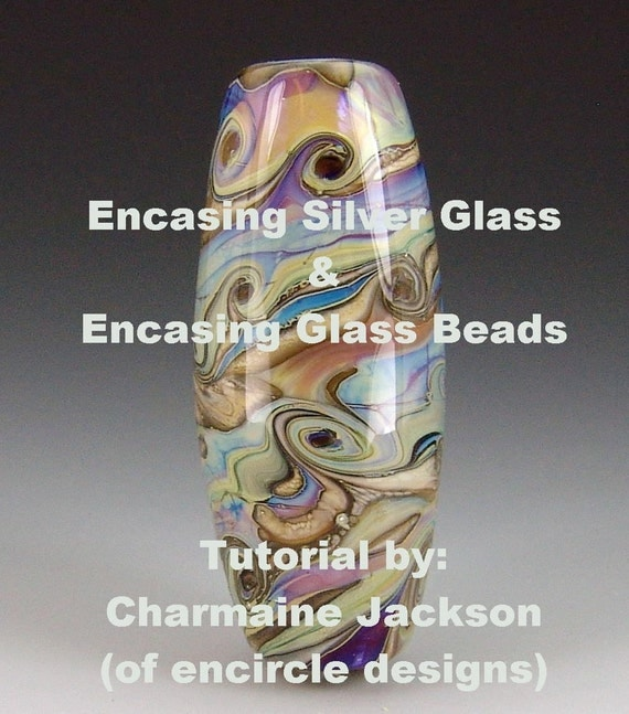 Encasing Silver Glass and Encasing Glass Beads TUTORIAL *INSTANT DOWNLOAD*