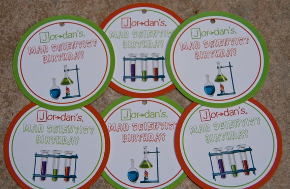 Science Tags: Mad Scientist Chemistry Science Birthday Party By Bellezaeluce