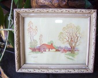 Anne Croft Framed Print