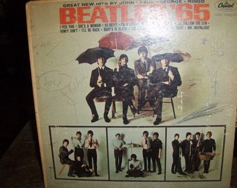 Beatles 65 Record Album Hi Fidelity 1965