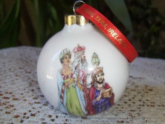 Christmas Ornament Porcelain Royal Tara Ireland