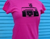 Vintage inspired 70's Camera t-shirt - the Grinstamatic
