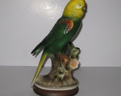 50% OFF Vintage Parrot Figurine Made in Japan