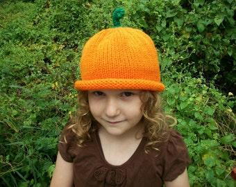 Pumpkin hat 4 sizes hat you choose pumkin hat size  punkin hat Halloween hat  fun for all