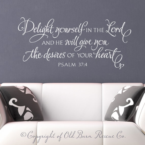 christian wall decal wall sticker delight by