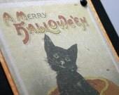 A Merry Halloween Handmade Card