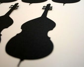 Cello Die cuts Handmade Music Instrument Die Cut Embellishments for Scrapbooking, Cardmaking or Framing
