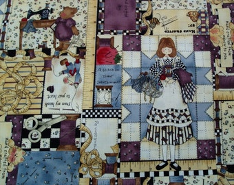 CHECKERED PAST Angel Sewing Cotton Fabric