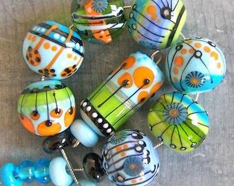 MruMru Magdalena Ruiz Lampwork beads, SRA