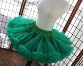 Pettiskirt Kelly Green Size X-Large Custom
