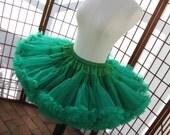 Pettiskirt Kelly Green Size Small Custom
