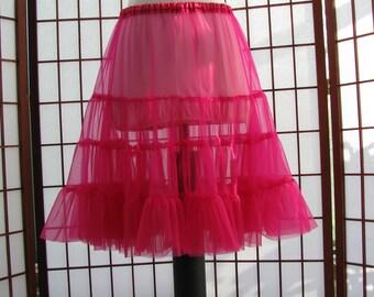 Chiffon Petticoat, Your Color Choice -- Custom Order
