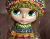 Green/Orange Sweater Set for Blythe ( RESERVED )
