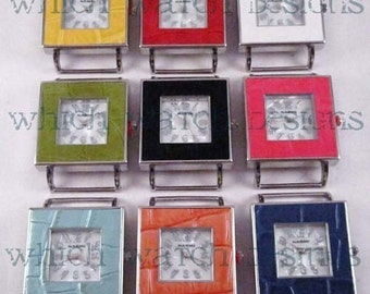 Snakeskin Square.. Faux Snake Skin Large Square Interchangeable, Solid Bar Watch Face
