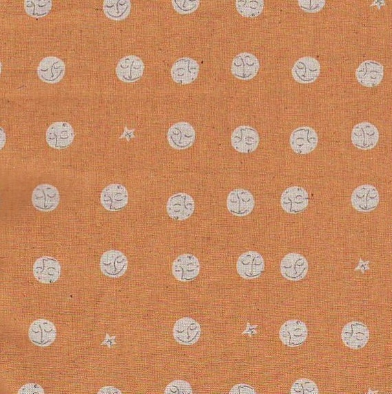 Heather ross fabric far far away 2 moon and stars for Moon and stars fabric