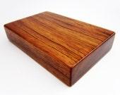 Jatoba Wood External 500GB Portable Hard Drive Enclosure